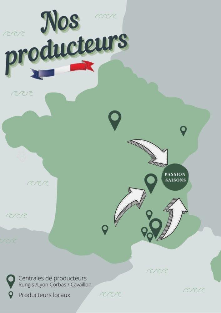 carte produits Passion Saisons fruits légumes frais producteurs locaux, producteur français, Reignier-Ésery