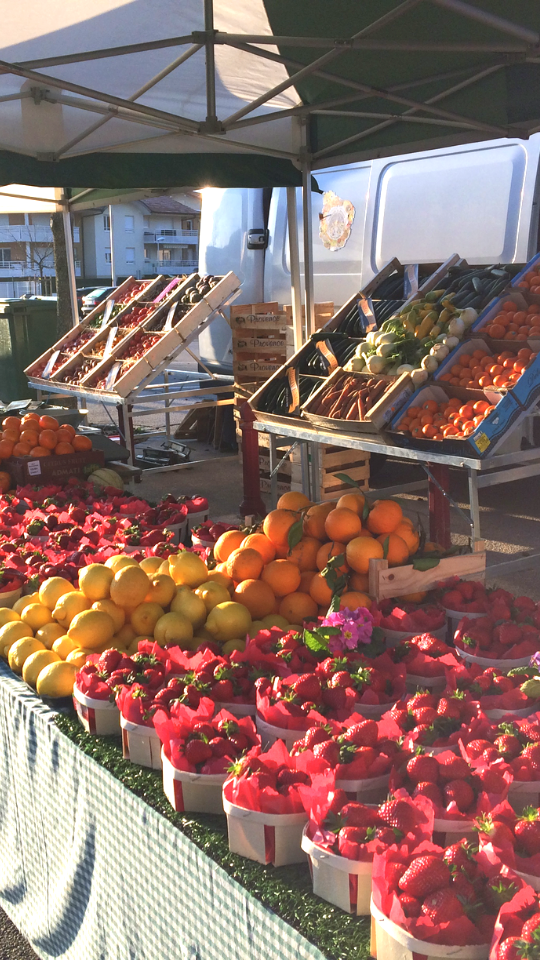 marché Reignier-Ésery, Passion Saisons, fruits et légumes de saison, frais et premium